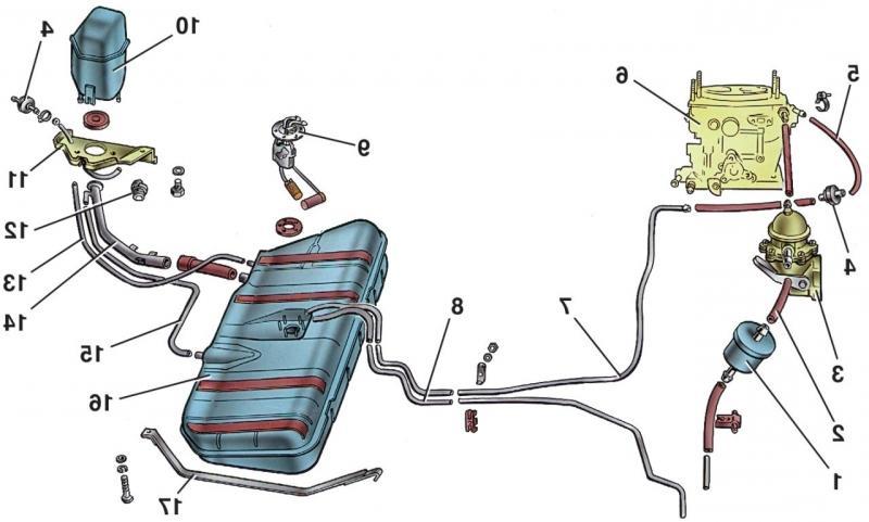 Фото №20 - ВАЗ 2110 неисправности топливной системы
