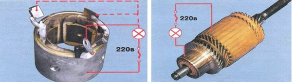 Фото №5 - как проверить якорь стартера ВАЗ 2110