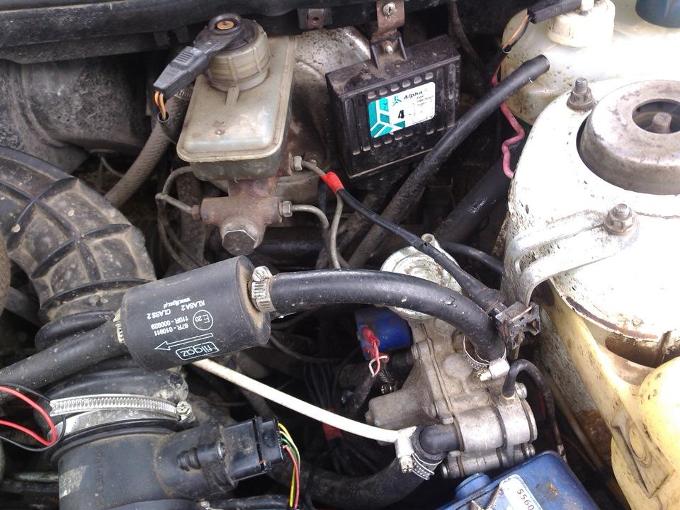 Фото №12 - установка гбо на ВАЗ 2110 8 клапанов