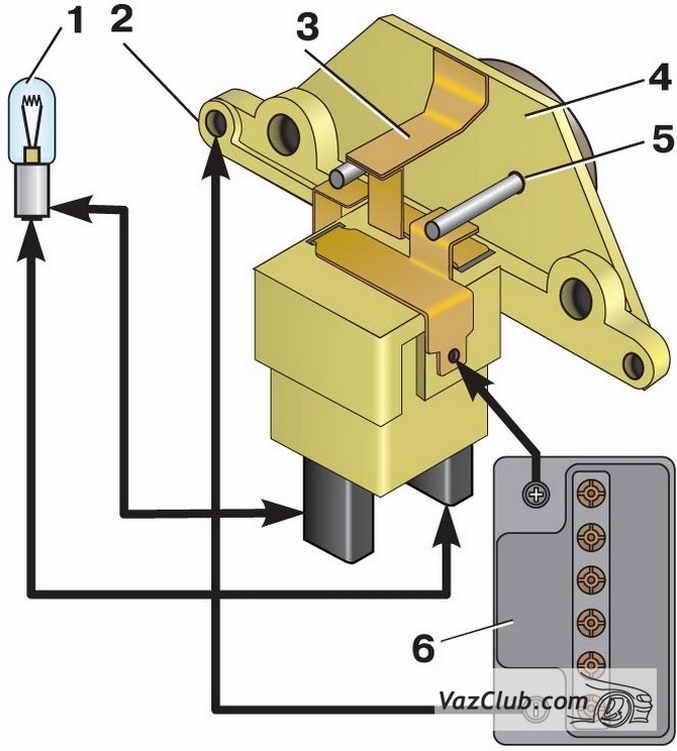 Фото №13 - как заменить реле регулятора напряжения на генераторе ВАЗ 2110