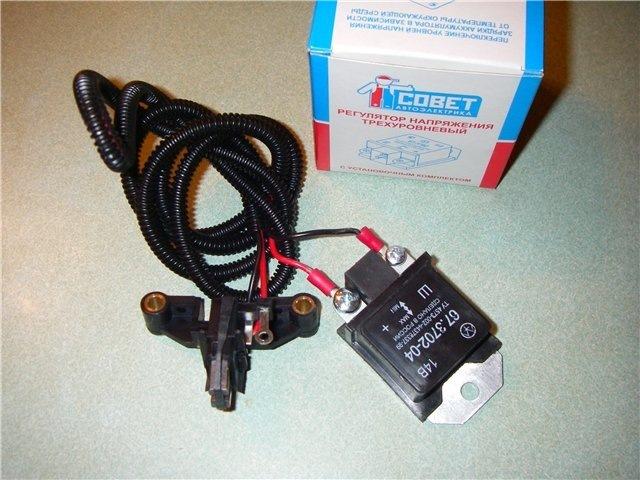 Фото №4 - установка трехуровневого регулятора напряжения на ВАЗ 2110