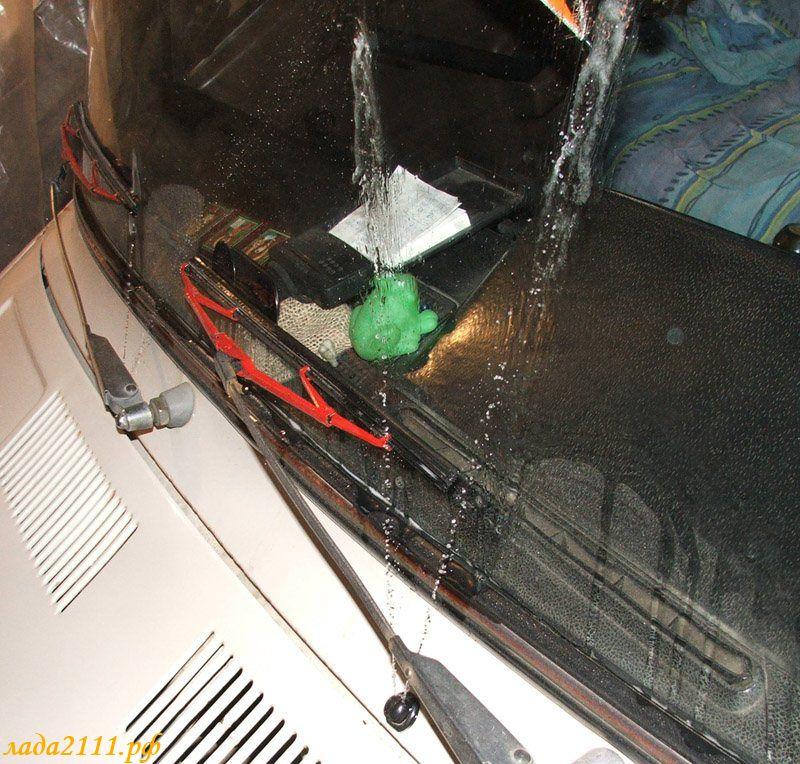 Фото №7 - система омывания лобового стекла ВАЗ 2110
