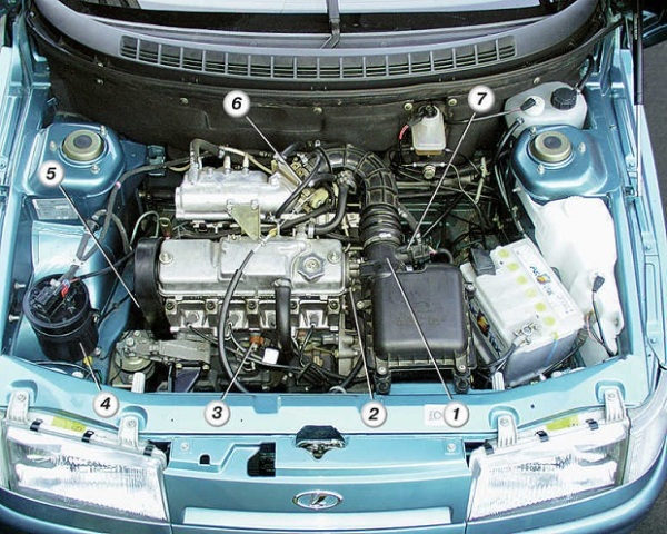 Фото №4 - неисправности ВАЗ 2110 инжектор 8 клапанов