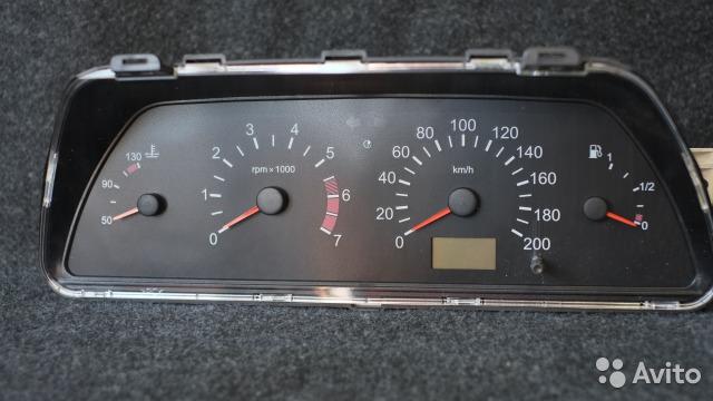 Фото №11 - приборная панель ВАЗ 2110