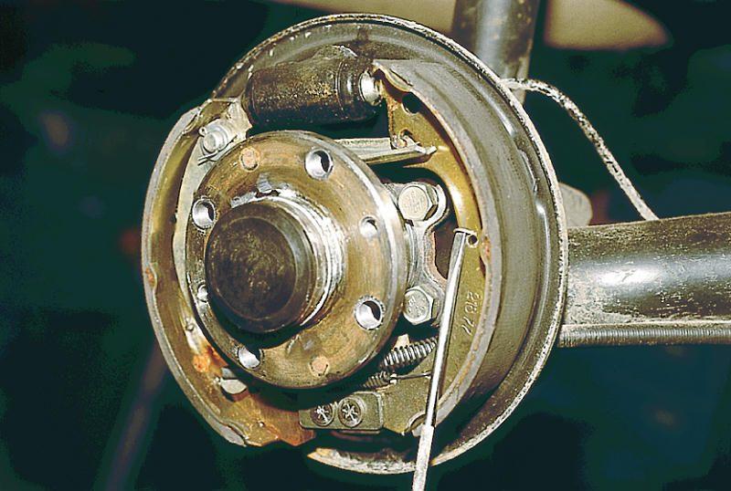 Фото №13 - почему греется тормозной диск на ВАЗ 2110