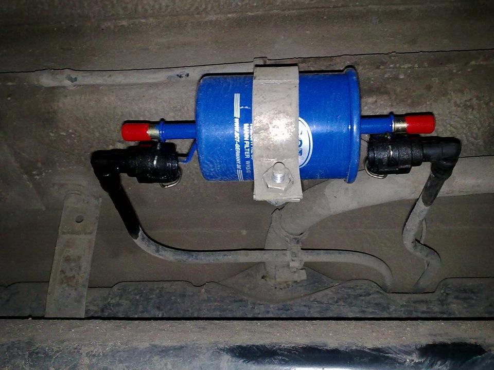 Фото №37 - фильтр топливный ВАЗ 2110