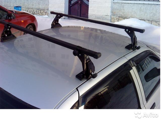 Фото №2 - багажник на ВАЗ 2110 на крышу
