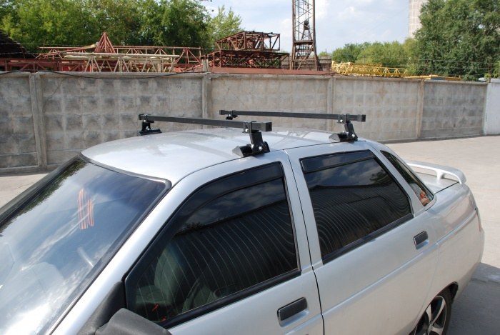Фото №10 - багажник на ВАЗ 2110 на крышу