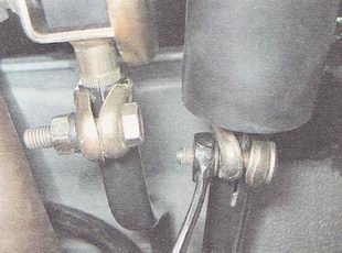 Фото №47 - регулировка рычага переключения передач ВАЗ 2110