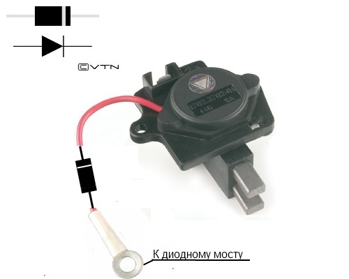 Фото №11 - как проверить реле регулятор генератора ВАЗ 2110