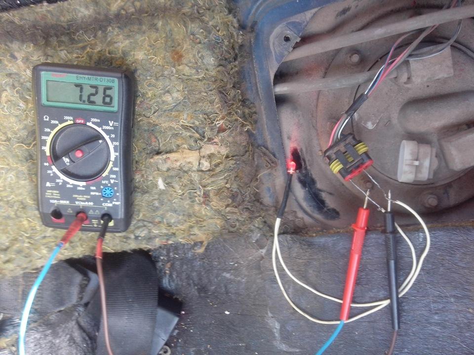 Фото №27 - почему не работает бензонасос на ВАЗ 2110