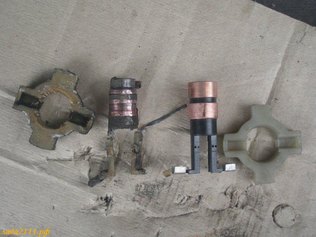 Фото №25 - замена контактных колец на генераторе ВАЗ 2110