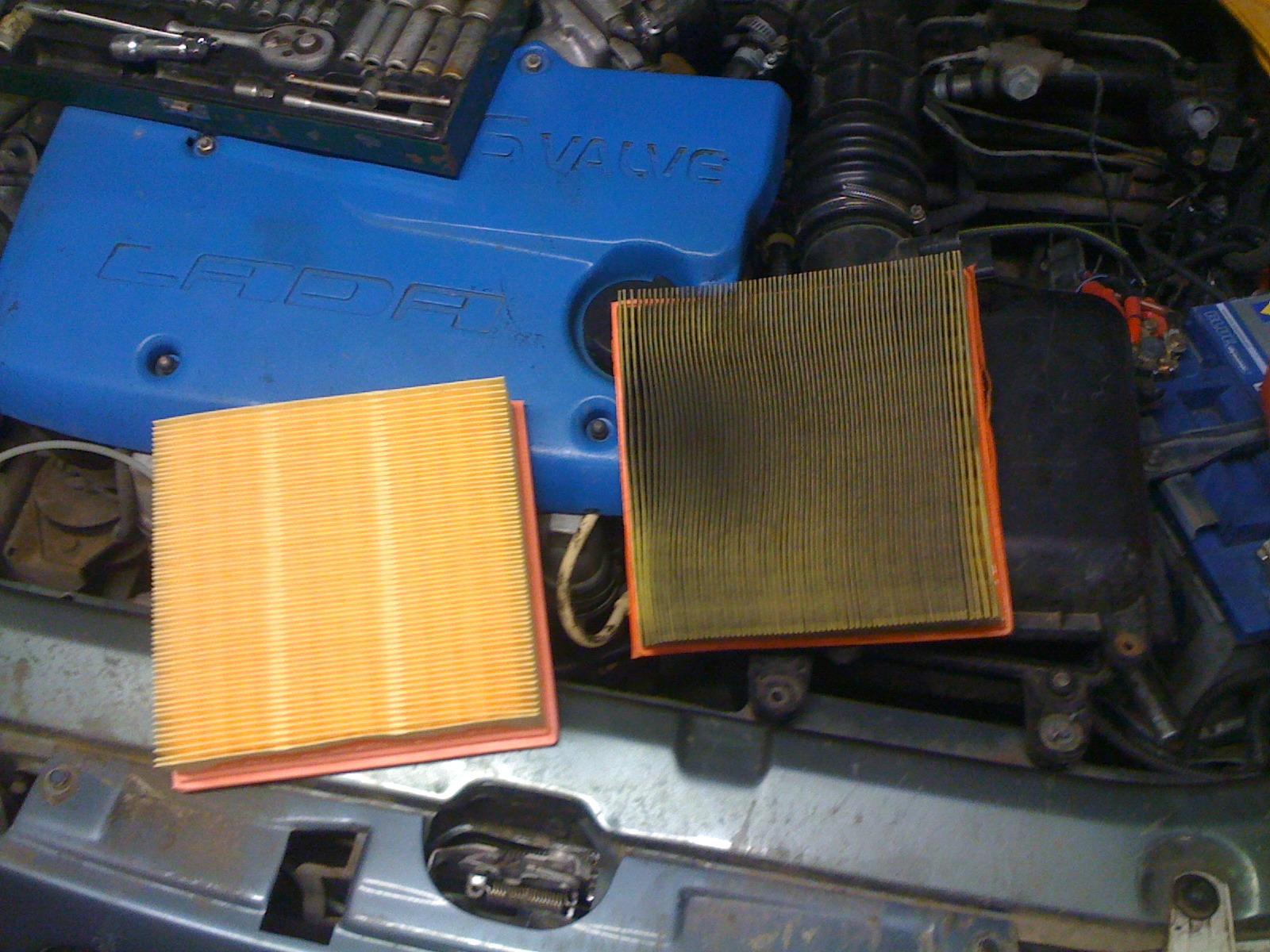 Фото №19 - как поменять воздушный фильтр в ВАЗ 2110