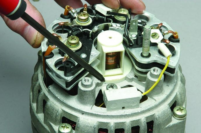 Фото №17 - как собрать генератор ВАЗ 2110
