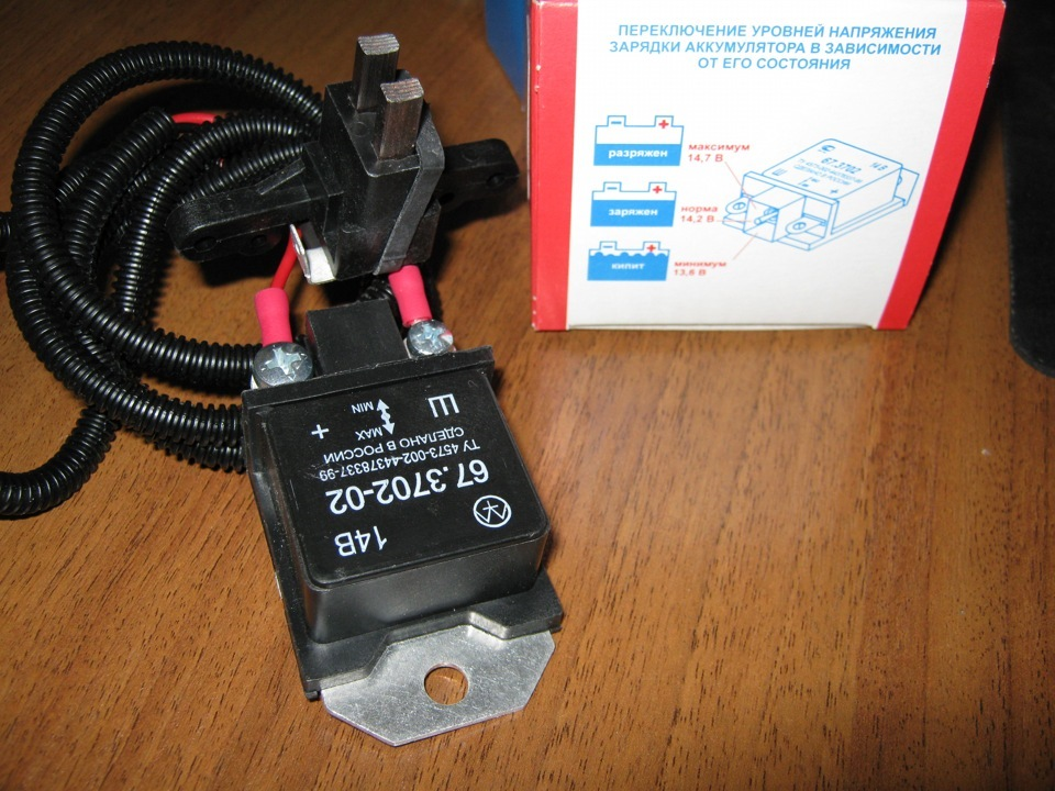 Фото №10 - 3 х уровневый регулятор напряжения ВАЗ 2110