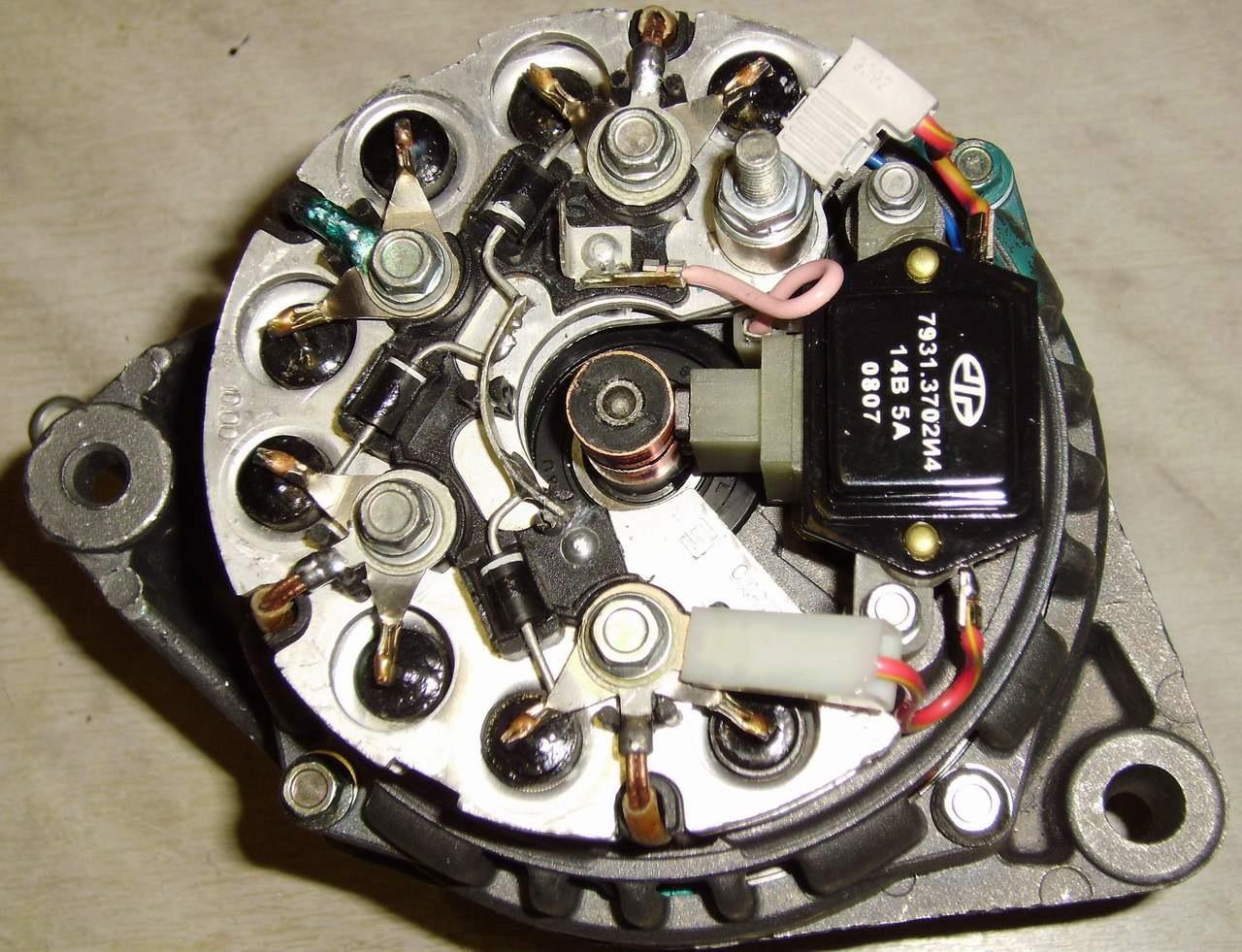 Фото №10 - генератор ВАЗ 2110 выдает маленькое напряжение