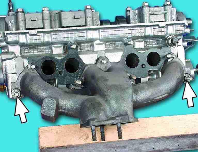 Фото №5 - замена прокладки коллектора ВАЗ 2110