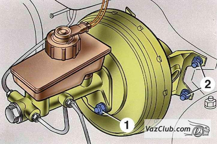 Фото №21 - течет тормозная жидкость ВАЗ 2110