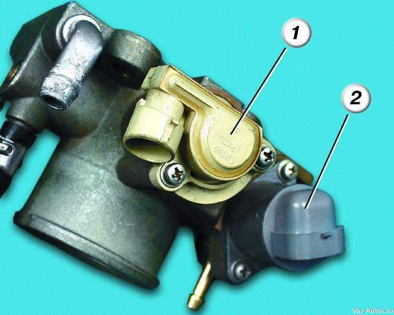 Фото №24 - ВАЗ 2110 замена датчика положения дроссельной заслонки