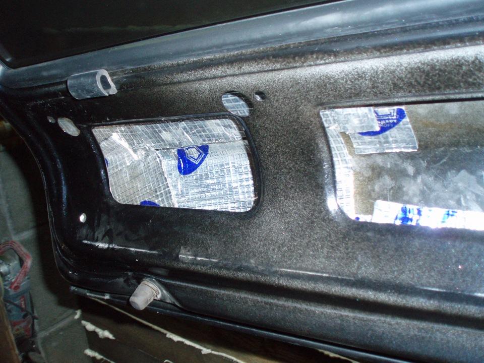 Фото №20 - шумоизоляция крышки багажника ВАЗ 2110
