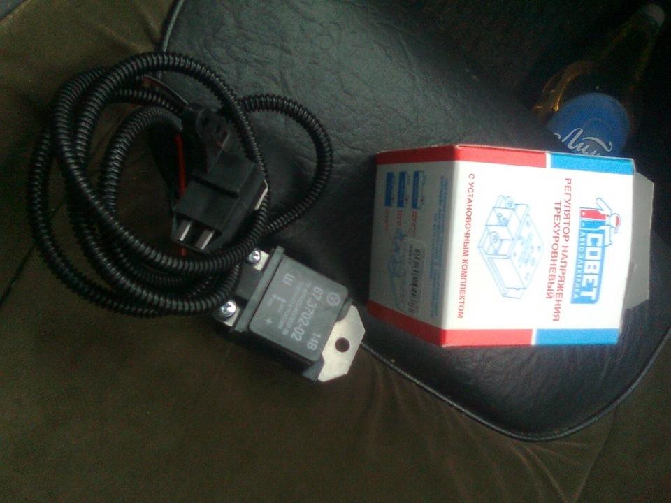 Фото №13 - 3 х уровневый регулятор напряжения ВАЗ 2110