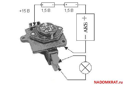 Фото №4 - как проверить реле регулятор генератора ВАЗ 2110