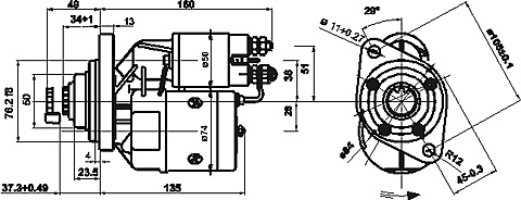 Фото №1 - втулки стартера ВАЗ 2110 размер