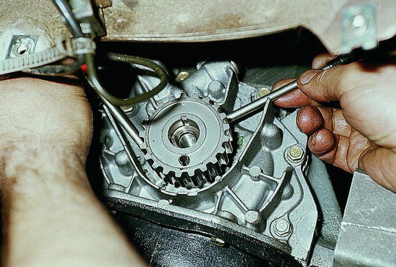 Фото №8 - какая резьба на коленвале ВАЗ 2110