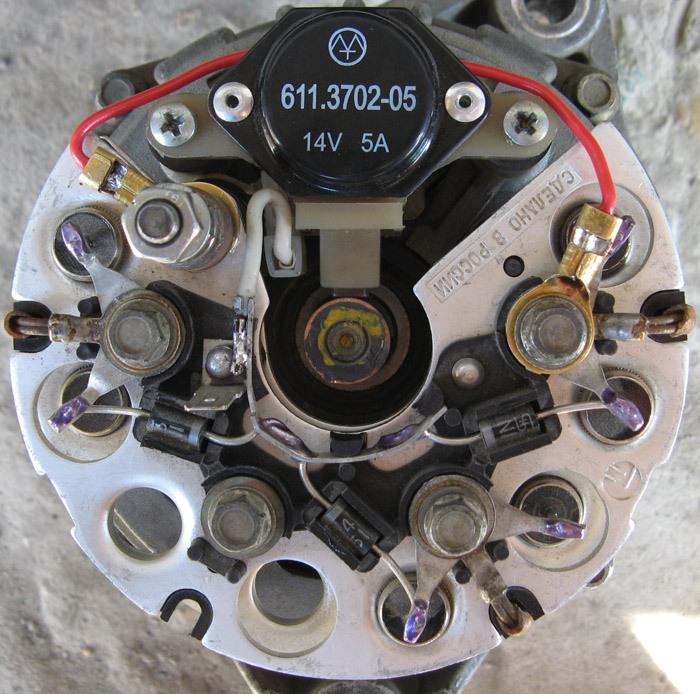 Фото №3 - недозаряд генератор ВАЗ 2110