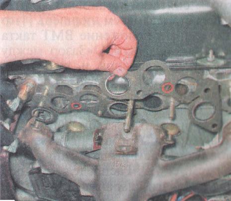 Фото №22 - замена прокладки впускного коллектора ВАЗ 2110