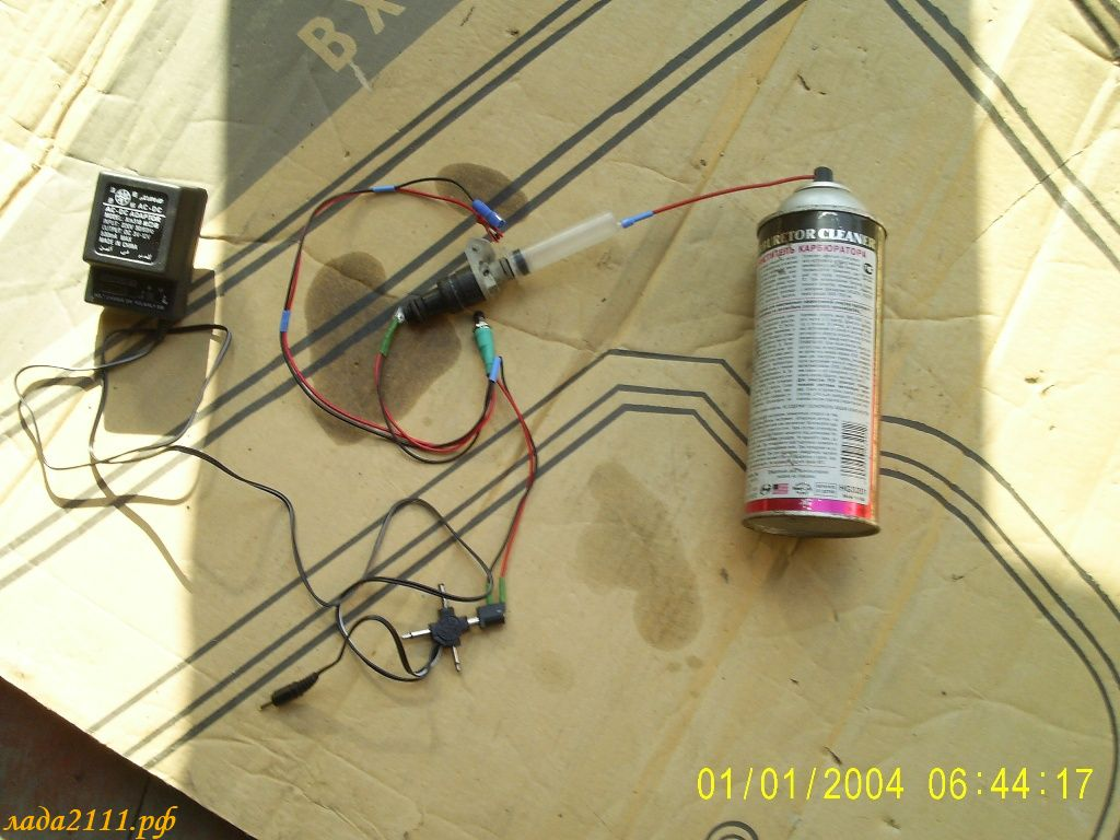 Фото №17 - прочистка форсунок инжектора своими руками ВАЗ 2110