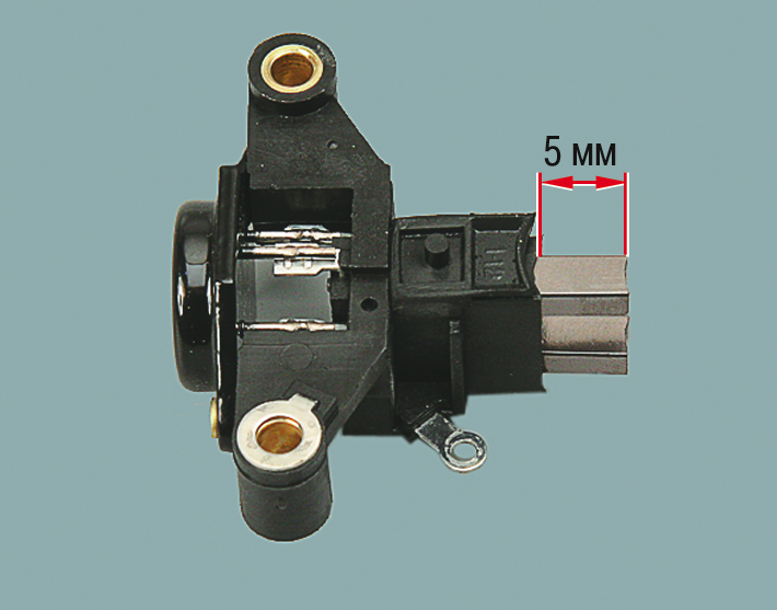 Фото №3 - проверка щеток генератора ВАЗ 2110