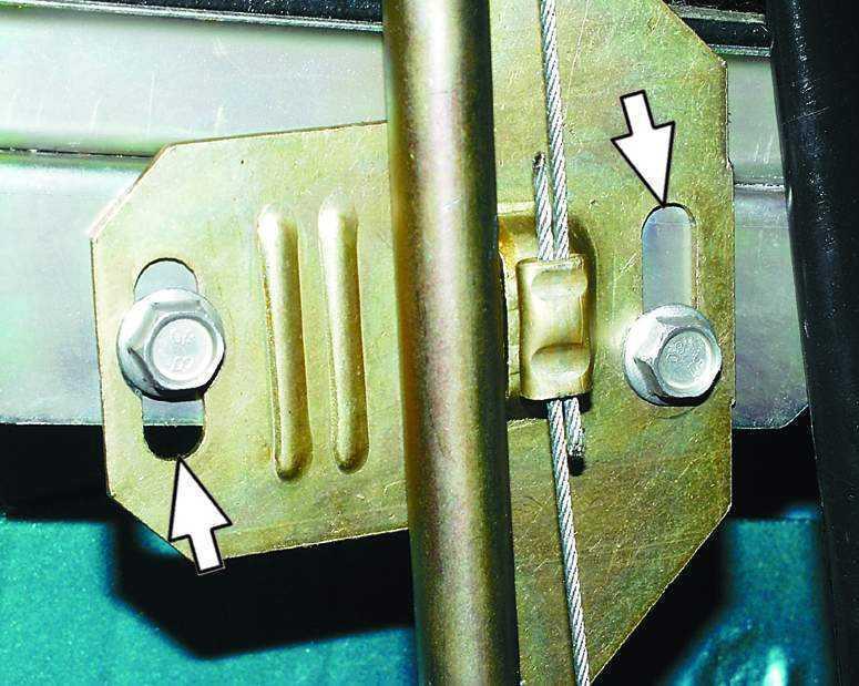 Фото №8 - регулировка стеклоподъемника ВАЗ 2110
