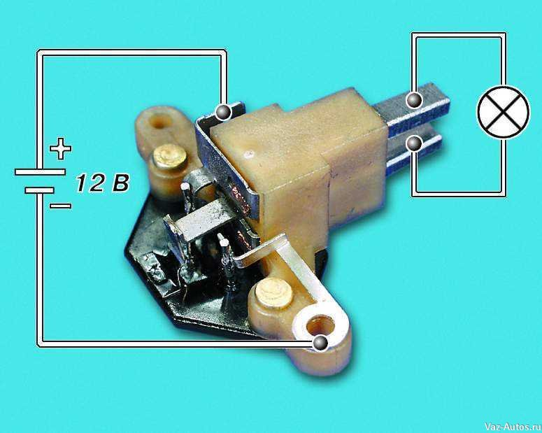 Фото №18 - ВАЗ 2110 как проверить реле регулятор генератора