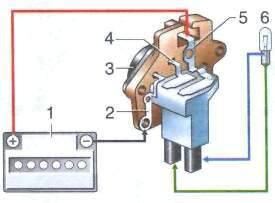 Фото №6 - как проверить реле регулятор генератора ВАЗ 2110