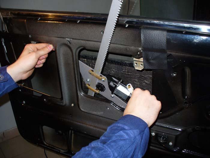 Фото №16 - как установить реечные стеклоподъемники на ВАЗ 2110