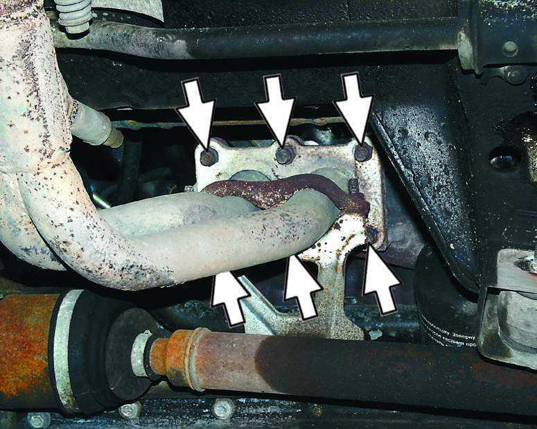 Фото №2 - ремонт глушителя ВАЗ 2110 своими руками