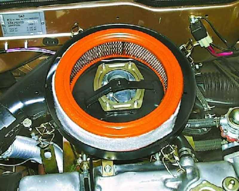 Фото №13 - как поменять воздушный фильтр в ВАЗ 2110
