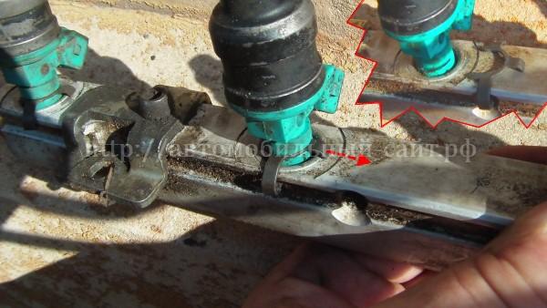 Фото №2 - чистка инжектора ВАЗ 2110 своими руками