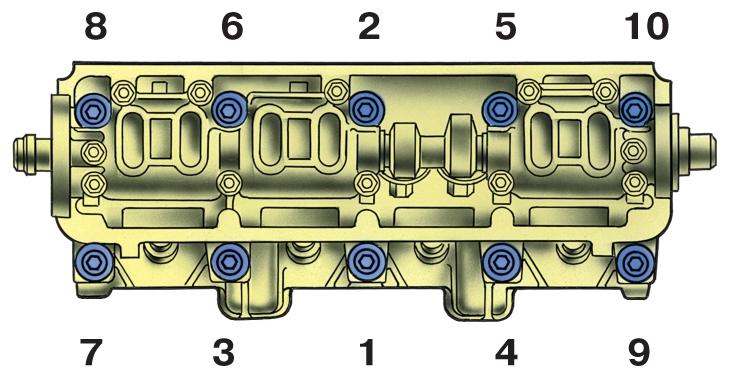 Фото №15 - порядок затяжки головки ВАЗ 2110 8 клапанов