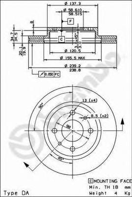Фото №17 - толщина нового тормозного диска ВАЗ 2110