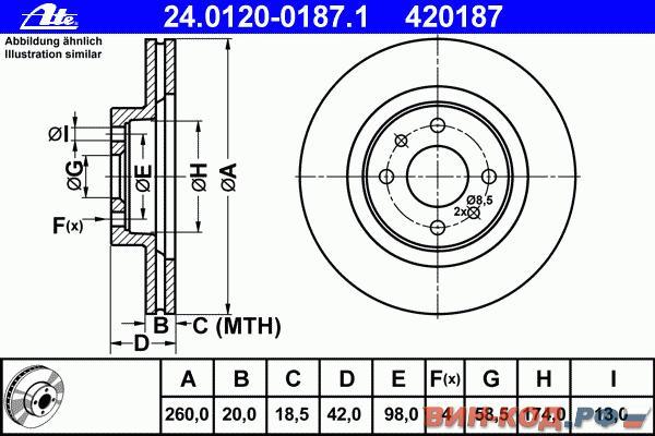 Фото №31 - толщина тормозного диска ВАЗ 2110