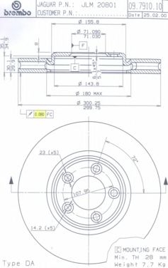 Фото №10 - какая толщина нового тормозного диска ВАЗ 2110