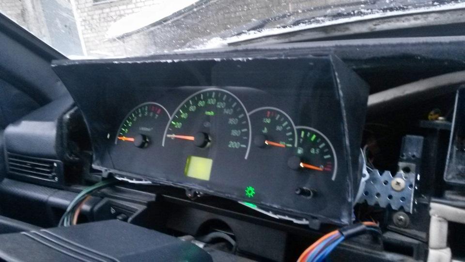 Фото №4 - ВАЗ 2110 приборная панель от приоры