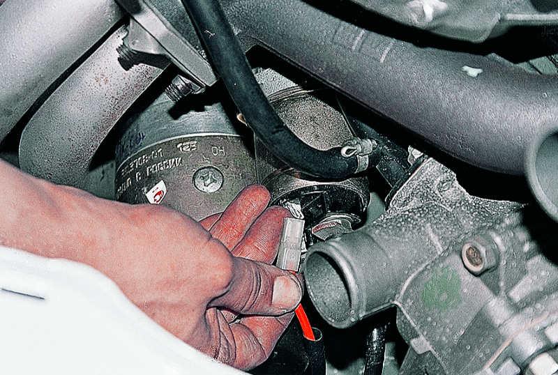Фото №6 - как подключен стартер на ВАЗ 2110