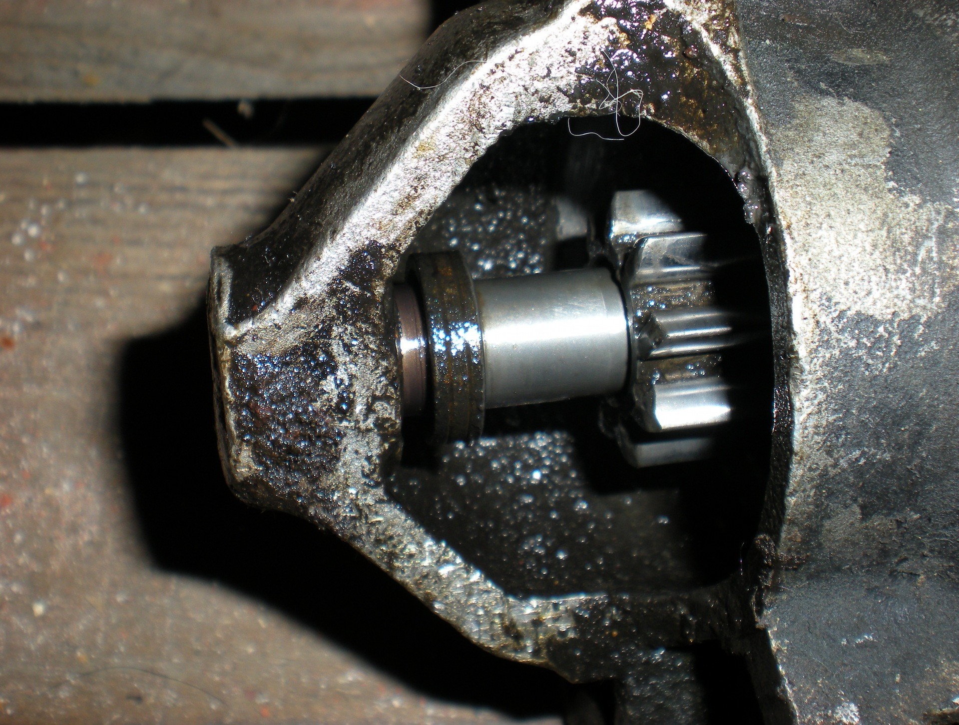 Фото №22 - греется переднее колесо ВАЗ 2110