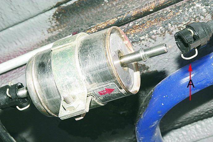 Фото №26 - замена топливного фильтра ВАЗ 2110