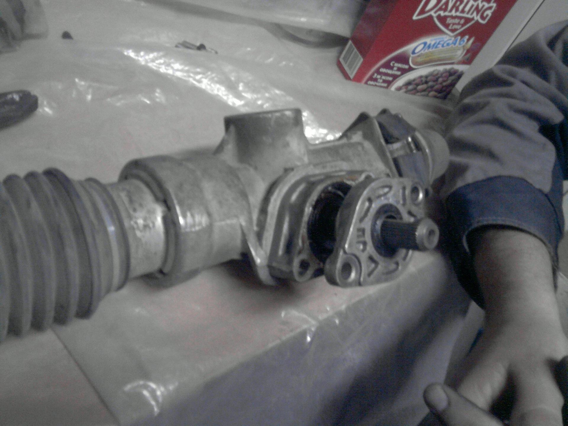 Фото №33 - замена ремкомплекта рулевой рейки ВАЗ 2110