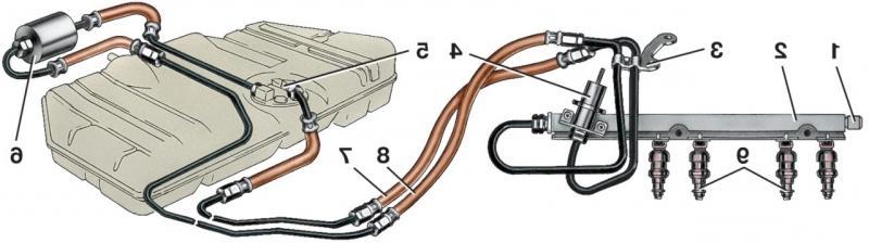 Фото №14 - нет давления в топливной рампе ВАЗ 2110