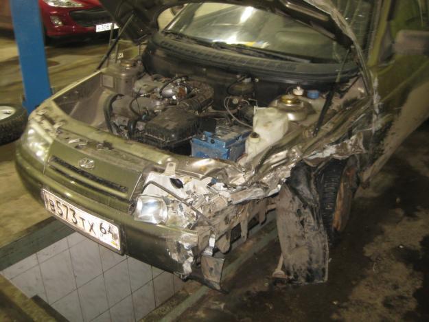 Фото №19 - ремонт кузова ВАЗ 2110 своими руками